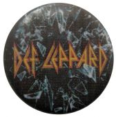Def Leppard - 'Def Leppard' Button Badge